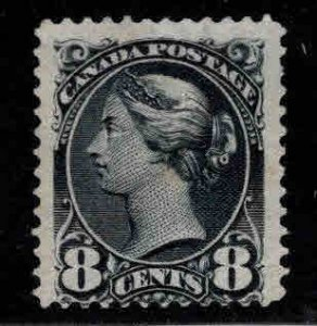 Canada Used Scott 44 Mint No Gum, perf 12 Black Beauty  1893 Ottawa printing