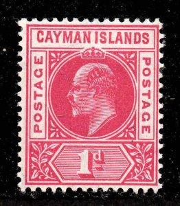 Cayman Islands 1905 EDVII 1d wmk MCCA SG 9 mint