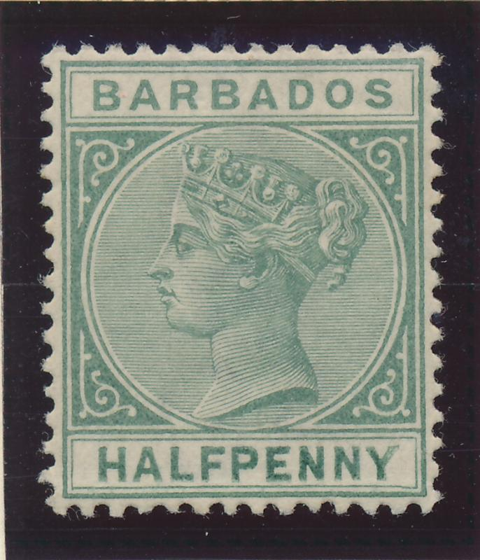 Barbados Stamp Scott #60, Mint Lightly Hinged - Free U.S. Shipping, Free Worl...