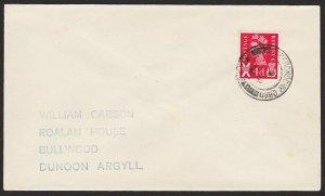 GB SCOTLAND 1971 cover TOBERONOCHY OBAN / ARGYLL cds.......................67861