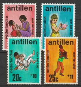 Netherlands Antilles 1970 Sc B105-8 set MNH
