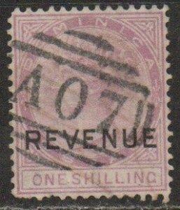 Dominica Sc #9 Used 'REVENUE' ovt; SG #R3