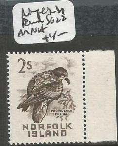 Norfolk Island Bird SG 22 MNH (8chx)