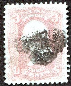 65 3c Washington   Used  XF