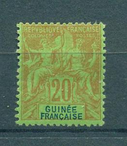 French Guinea sc# 9 mhr cat val $21.00