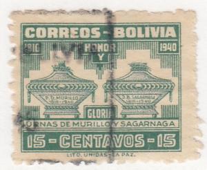 Bolivia, Scott # 271, Used