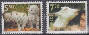 Norway stamp Domestic animals set MNH 2001 Mi 1409-1410 Animals WS230711
