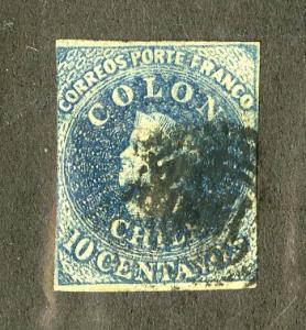 CHILE 9 USED SCV $8.00 BIN $3.25 PERSON