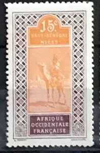 Upper Senegal & Niger #23a MH CV$7.00 Camel Rider