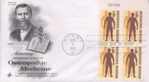 1469 8c OSTEOPATHIC MEDICINE - Artcraft PlB4