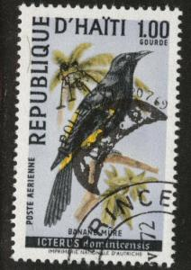 Haiti  Scott C344B Used  CTO Bird stamp
