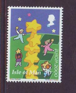 Isle of Man Sc 883 2000 Europa stamp mint NH