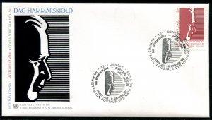 376 UN - Geneva Dag Hammarskjold OFDC