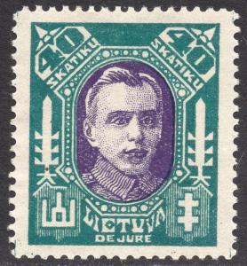 LITHUANIA SCOTT 116A