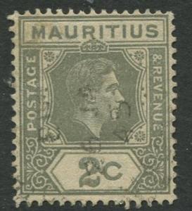 Mauritius - Scott 211 - KGVI Definitive Issue -1938 - FU -Single 2c Stamp