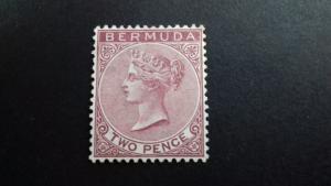 Bermuda 1883 -1898 Queen Victoria - New Watermark Mint