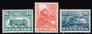 Denmark # 301 - 303  MNH