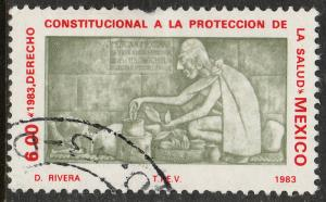 MEXICO 1313, Constitutional Right Health Protection Used. (1001)