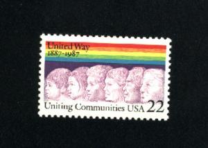 USA #2275  3 used 1987 PD .08