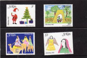 St Kitts 1982 Christmas MNH