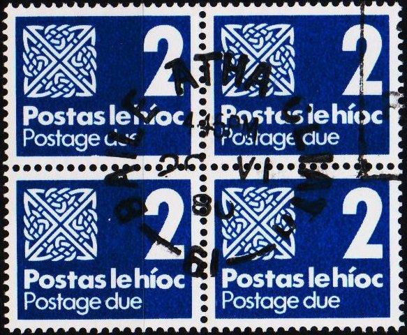 Ireland. 1980 2p(Block of 4) S.G.D26 Fine Used