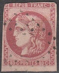 France #48 Fine Used  CV $250.00 (S697)