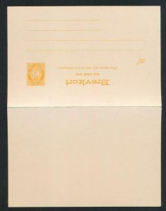 NORWAY Mi. P50 POSTAL STATIONERY POSTAL CARD 3+3 PD. REPLY