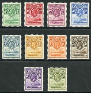 Basutoland SG1/10 1933 KGV set M/M