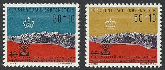 Liechtenstein #B22-B23 MNH Full Set of 2