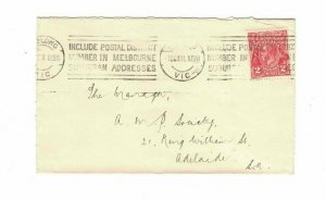 APH1476) Australia 1931 2d Red KGV Die I Small Cover