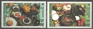FRENCH POLYNESIA SCOTT 458-459