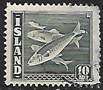 Iceland # 222 - Herring - used....{GBl)