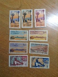 Somali Coast  # 248-58  MH