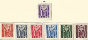 Togo J42-48 MLH BIN $2.10