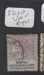 BECHUANALAND (P1910B) QV  1D  SG 10  VFU