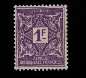 FRENCH GUINEA Scott J23 MH* Postage due stamp