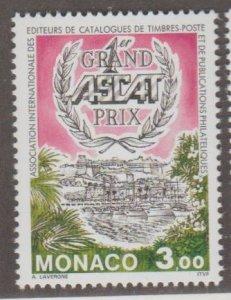 Monaco Scott #1912 Stamp - Mint NH Single