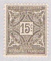 Ivory Coast J11 MNH Numeral 15 1914 (BP38105)
