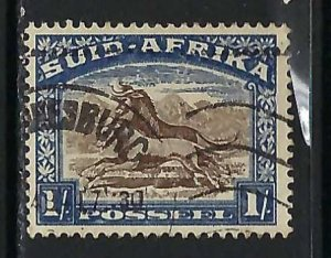 SOUTH AFRICA 43b VFU Z4700-1