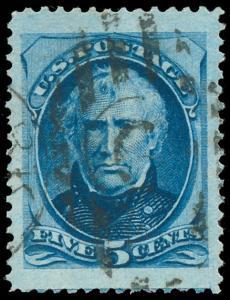 momen US Stamps #179 Used CHOICE XF-SUP JUMBO PF Cert