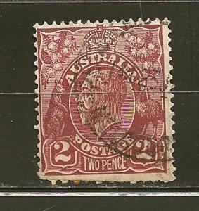 Australia 29 King George V Used
