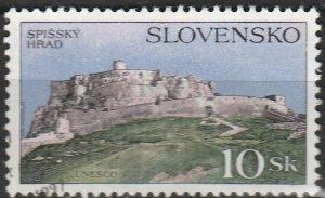 Slovakia, #229  Used , From 1995,  CV-$0.50