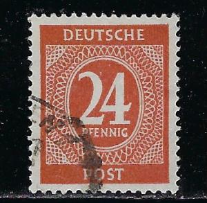 Germany AM Post Scott # 544, used