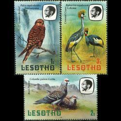 Lesotho MNH 321-3 Birds 1981