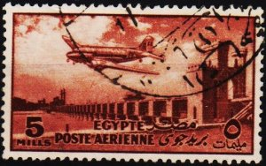 Egypt. 1953 5m S.G.433 Fine Used
