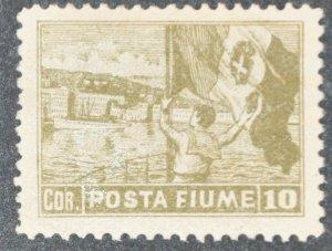 DYNAMITE Stamps: Fiume Scott #53 – MINT hr