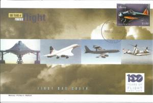 100 Years Of Flight First Day Cover - Boeing Model 248 - 2004 Liberia Z5528