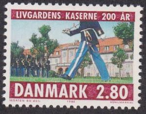 Denmark # 792, Changing of the Guard, NH, 1/2 Cat.