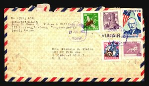 Korea 1960 Cover to USA / Light Creasing - Z17038