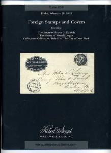 Siegel Foreign Stamps and Covers Auction